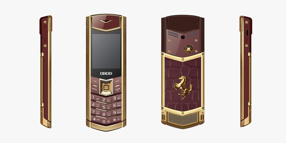 طراحی گوشی موبایل ارود مدل Empire