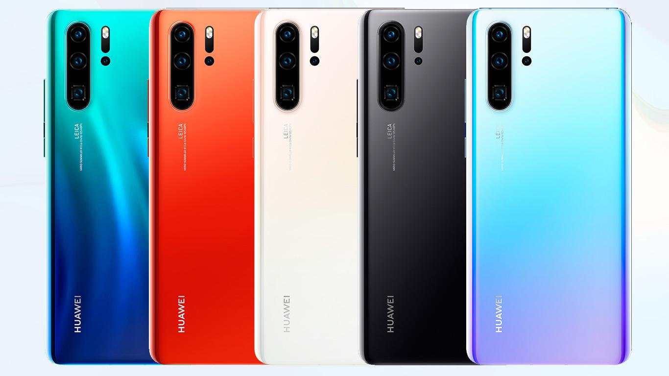 رنگبندی گوشی p30 pro