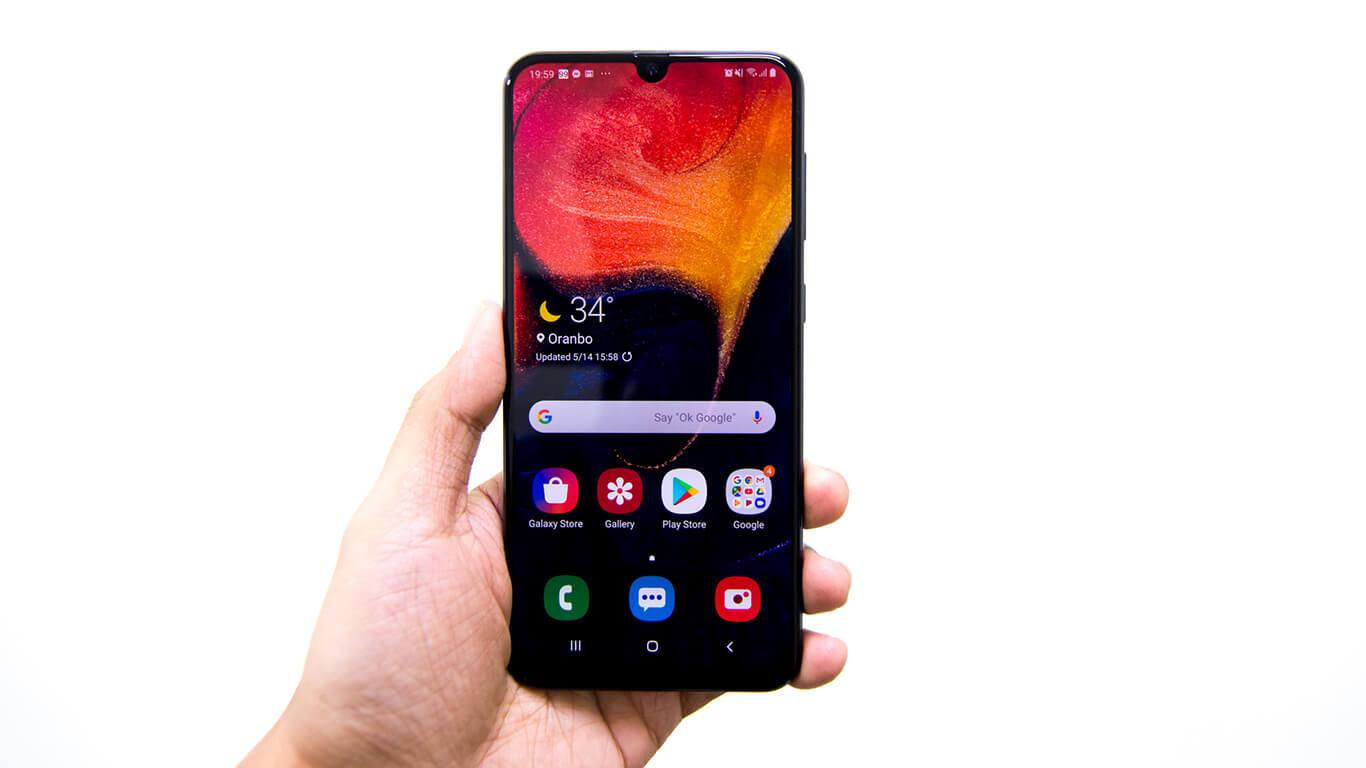 گوشی a50 2019