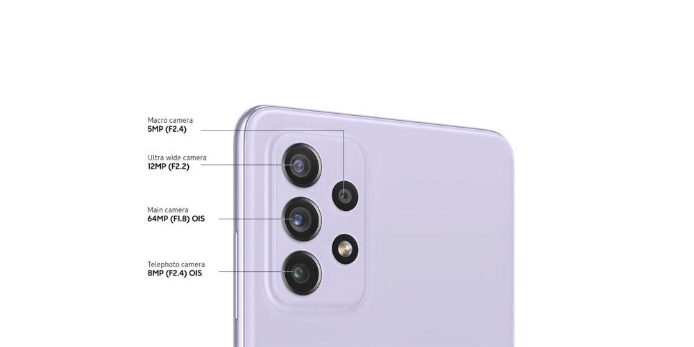 دوربین گوشی A52