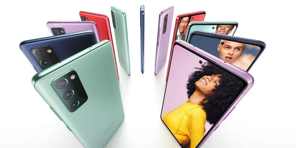 گوشی موبايل سامسونگ مدل گلکسی S20 FE 4G ظرفیت 128 گیگابایت - رم 8 گیگابایت