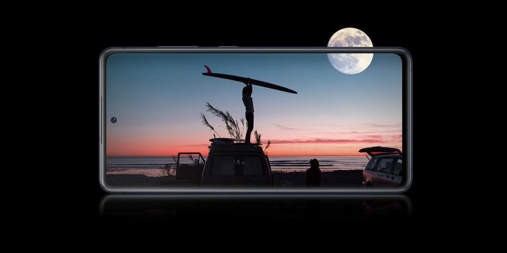 صفحه نمایش گلکسی S20 Fe 4G