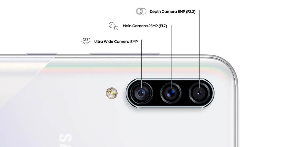 دوربین سامسونگ گلکسی A30s